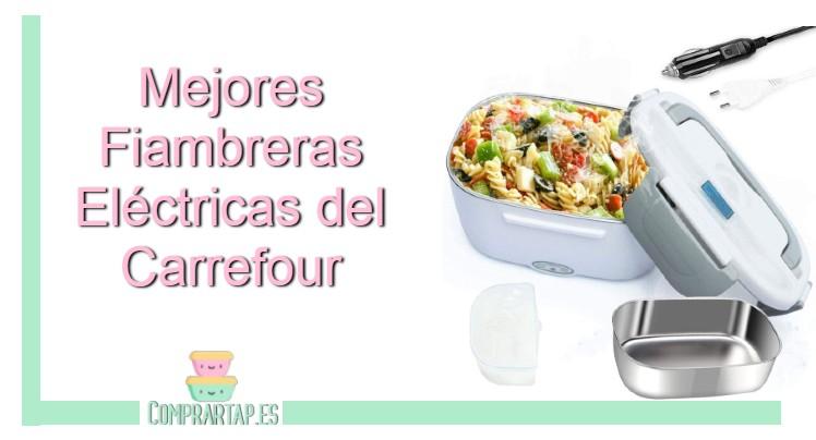 Comparativa y opiniones de las mejores fiambreras del Carrefour