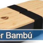 Táper fabricados en Bambú ecológicos