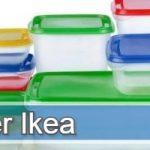 Todos los modelos de táper o tupper de Ikea