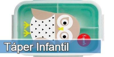 Todos los táper con decoración infantil que puedes comprar online