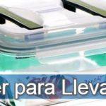 Los tupper más vendidos de este año online para llevar y transporta la comida